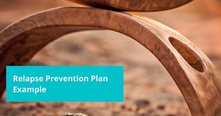 Relapse Prevention Plan Example